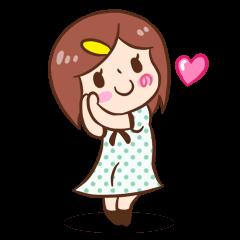 女の子のリサ