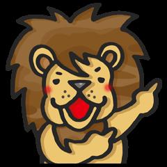 ぶさかわいい迷彩ライオンのサッカーライフ