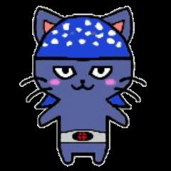 ヒロ猫(ブルー)