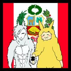 可愛い!シュール!ペルーの名物アルパカ