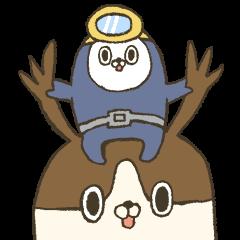 うみちゃんとマゴルー