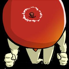 青森りんごスタンプ