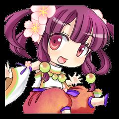 梅の妖精プラムちゃん
