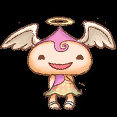 [LINEスタンプ] 天使たちのつぶやき (1)
