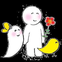 [LINEスタンプ] ポワンちゃんとお友だち (1)