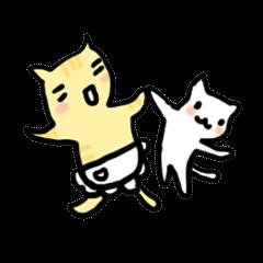 親子ネコ(ママ友&パパ友に)