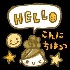 ちこちゃん*スタンプ