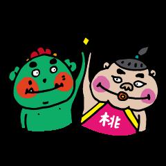 azuki & momotarou