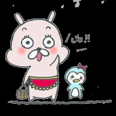 主婦うさぎ&おちびのペンたん〜日常編〜