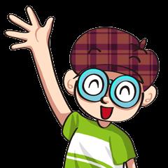 探偵O-O君スタンプ この夏限定!