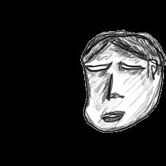 顔で表現するスタンプ 基本編