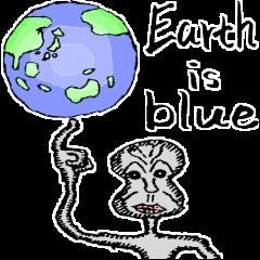 地球到着!
