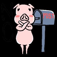 [LINEスタンプ] 入っちゃった動物たち! (1)