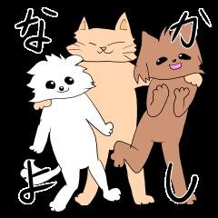 犬も猫も好き