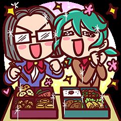 School Life of Tsubaki and Miko