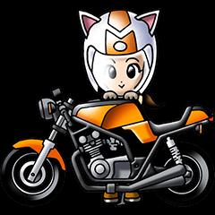 猫耳ライダース ネイキッドガール
