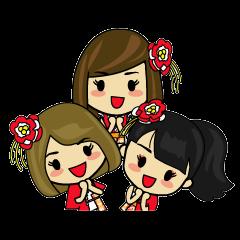 キュート 三姉妹