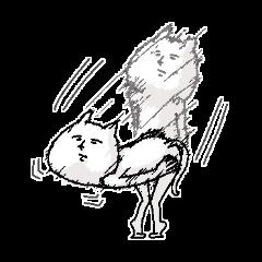 無表情なネコ2