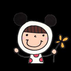 [LINEスタンプ] 着ぐるみ・nicoちゃん【主婦編】 (1)
