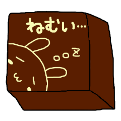 チョコレートにお絵描き