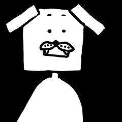 四角い犬 第2弾
