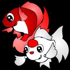 かわいい金魚(日本語版)