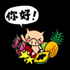 エンジョイ、こぶた台湾!!