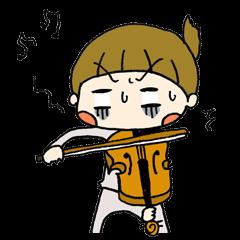 ゆるガール&バイオリン