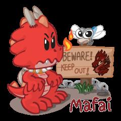 Mafai the dragon