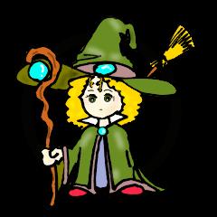 小さな可愛い魔法使い