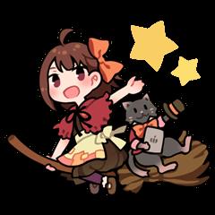 魔女っ子と黒猫のTABITABI