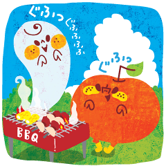 karinのuhyohyoな『りんごくん.4』夏海BBQ!