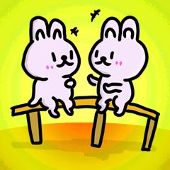 めちゃかわ☆ウサギさんスタンプ!