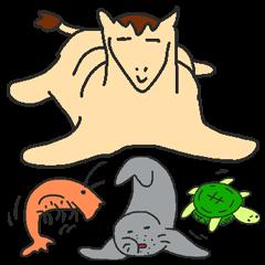 [LINEスタンプ] 適当動物2