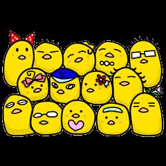 三河弁ひよこ~ず 2
