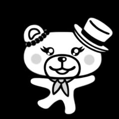 くまえちゃんのスタンプ 3