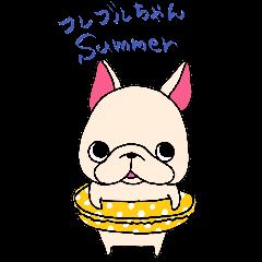 フレブルちゃん夏用スタンプ