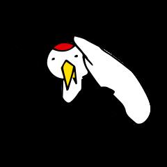 近所の鶴[ツル]さん