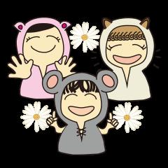 かぶりもの女子 パート2~中国語の巻~