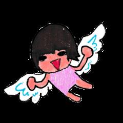女の子の翼