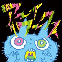 aaaaiWORKSの青いネコ