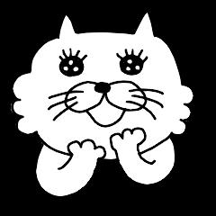 シンプルなネコたち