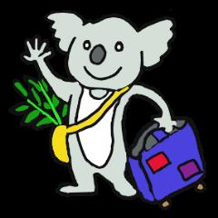 Koala going to Osaka