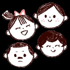 ぼっけぇ岡山弁家族