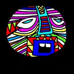African Mask Parade 800