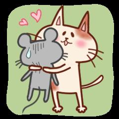 ネコとネズミのゆかいな日常