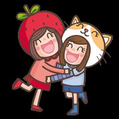Ichigo Juneko and Neko AeA