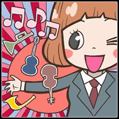 音楽あるあるスタンプ