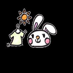 [LINEスタンプ] うさママ (1)