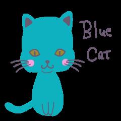 Blue Cat 青いねこ